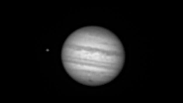 Jupiter 27.7.2009 + Impact