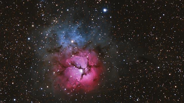 Interstellares Farbenspiel