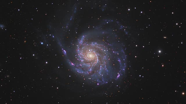 M 101 Feuerrad-Galaxie