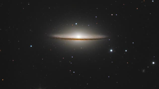 Messier 104 Sombrero-Galaxie
