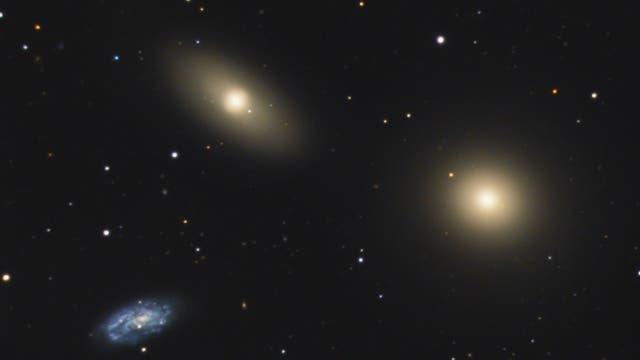 Messier 105 Galaxiengruppe