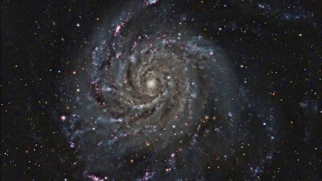 M 101, die Feuerrad-Galaxie
