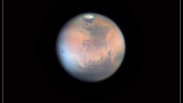 Mars am 23. März 2012