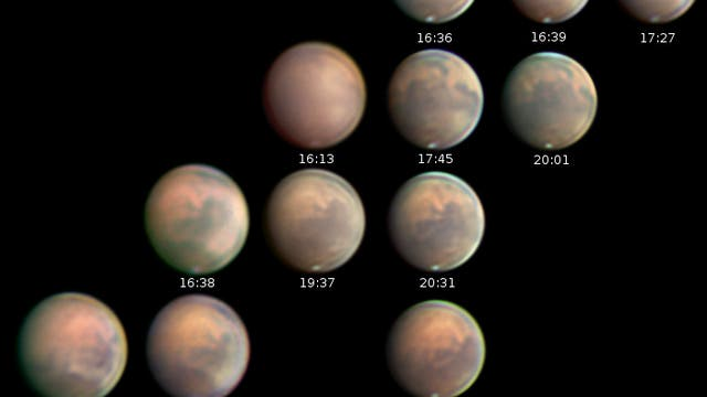 Mars-Staubsturm im November 2020