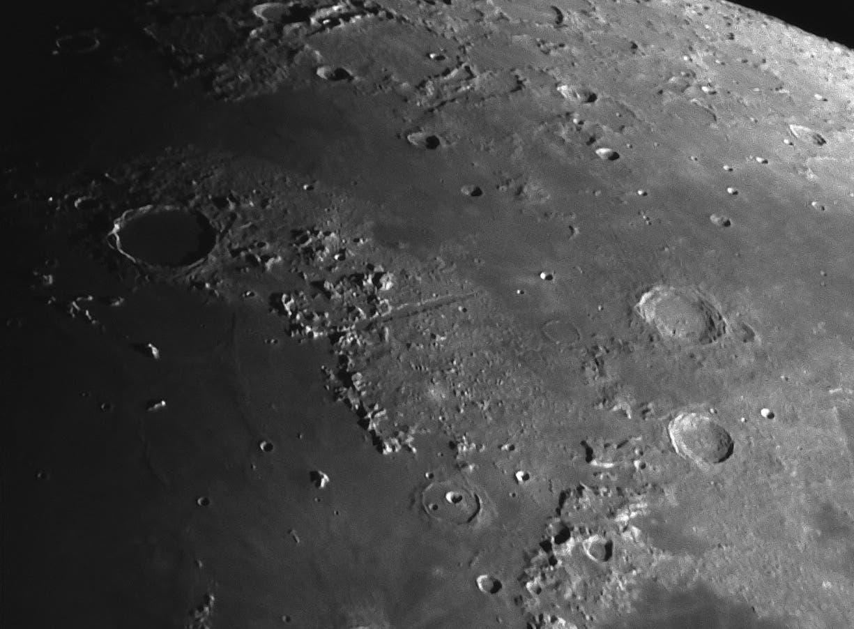 Mond am 15.08.13 mit nur 4 Zoll