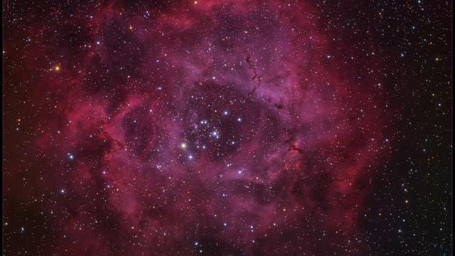 NGC 2237: Der Rosettennebel