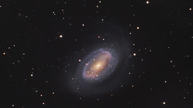 NGC 4725 in Begleitung