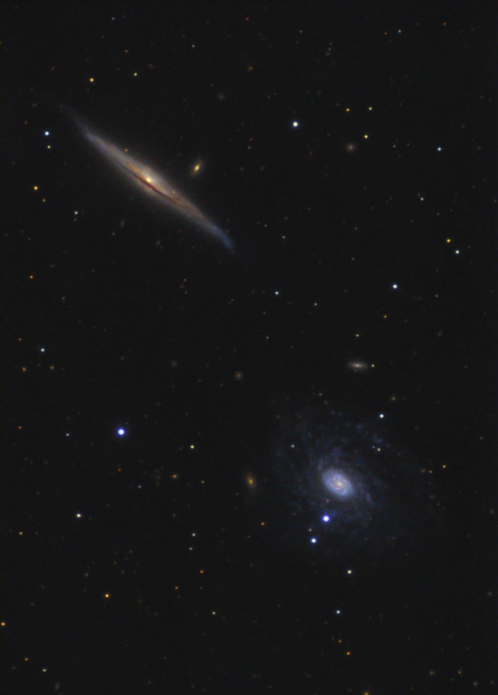 NGC 5963 und NGC 5965