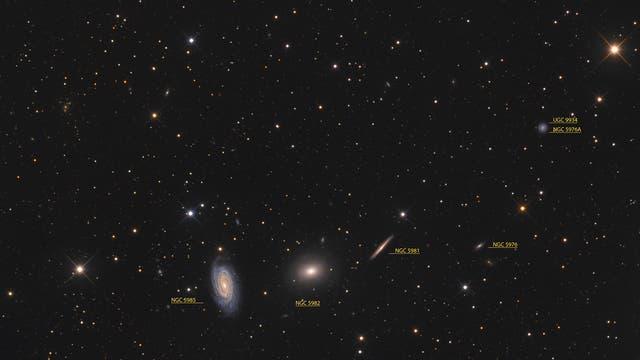 NGC-5982-Gruppe (Objekte)