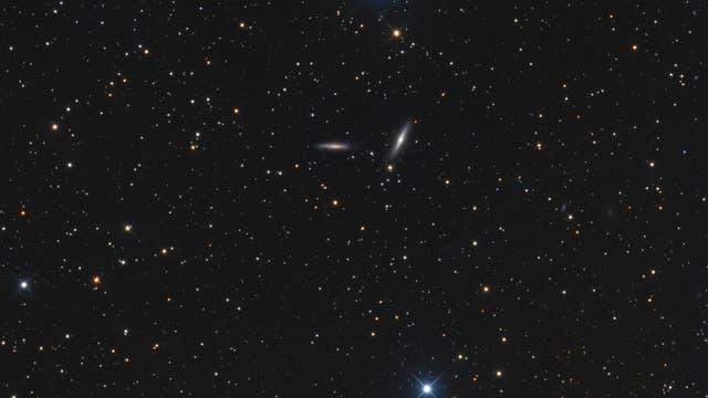 Galaxien NGC 7339 und NGC 7332