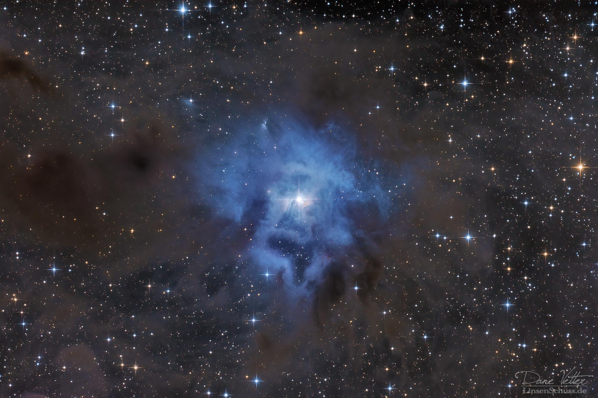 NGC 7023 - Der Irisnebel
