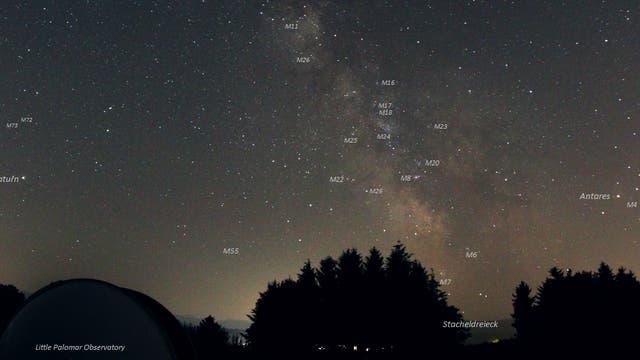 Little Palomar Observatory Blick nach Süden