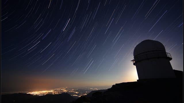Das Skinakas-Observatorium und Heraklion