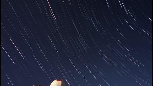 Das 30-Zentimeter-Teleskop des Skinakas-Observatorium