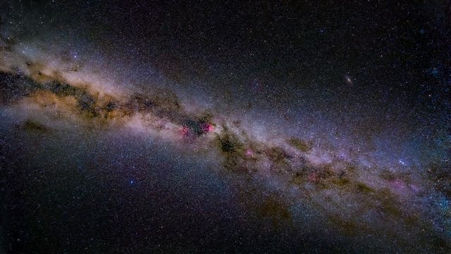 Milchstraße über der Wasserkuppe