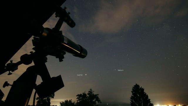 Saturn im Visier
