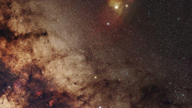 Skorpion mit Mars und Saturn