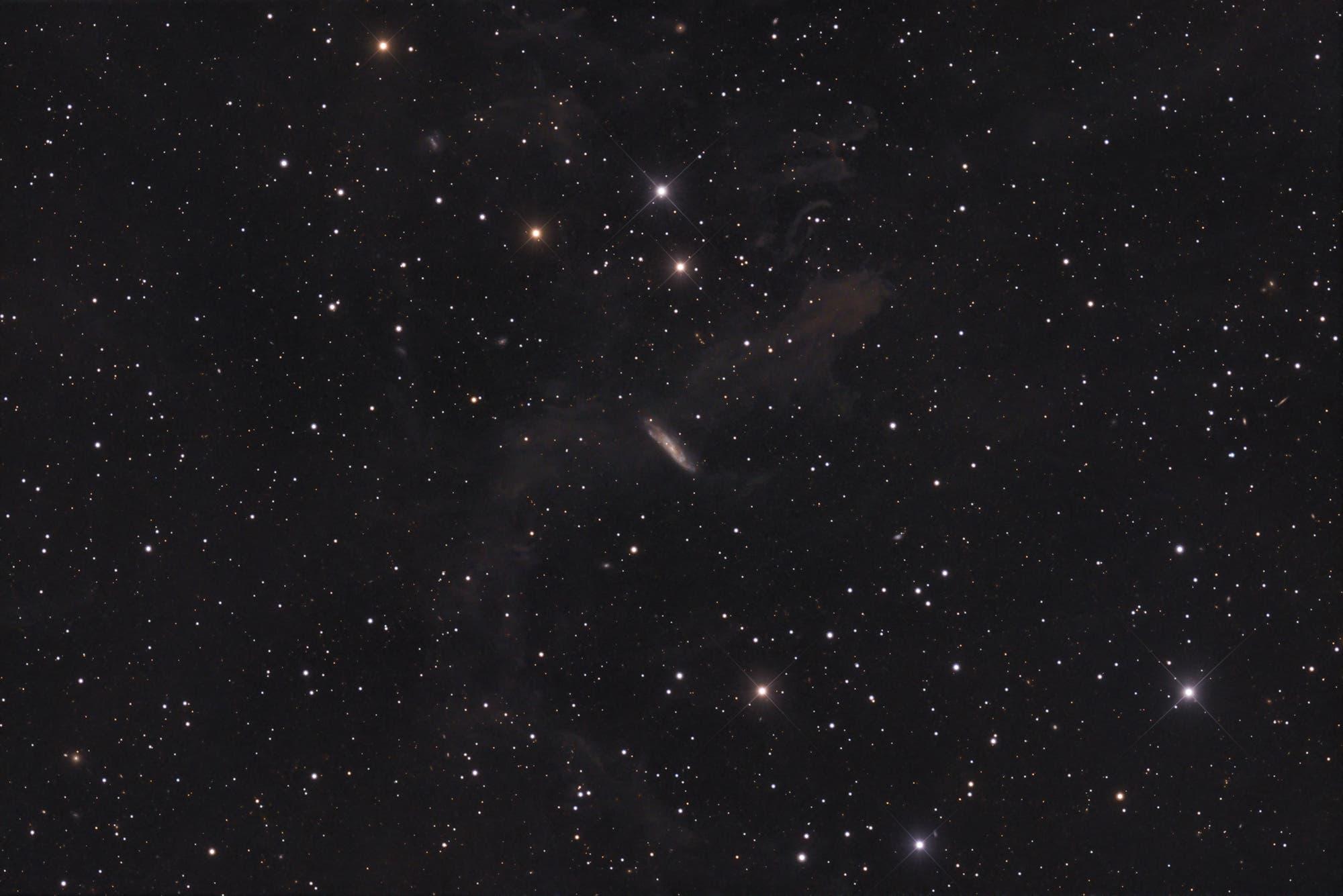 NGC 7597 - Galaxie im Nebel