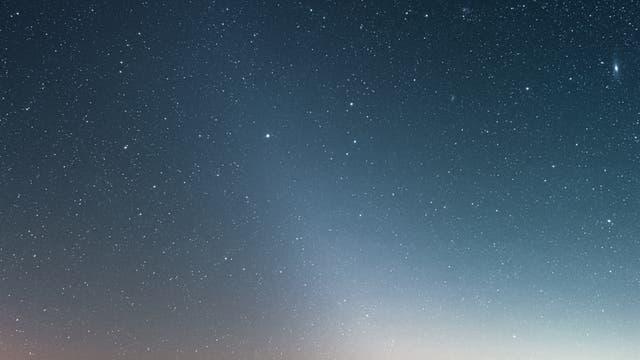 Zodiakallicht über Pfälzerwald