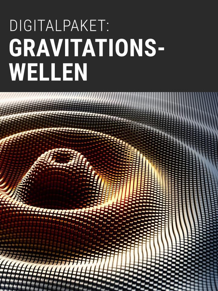 Digitalpaket: Gravitationswellen Teaserbild