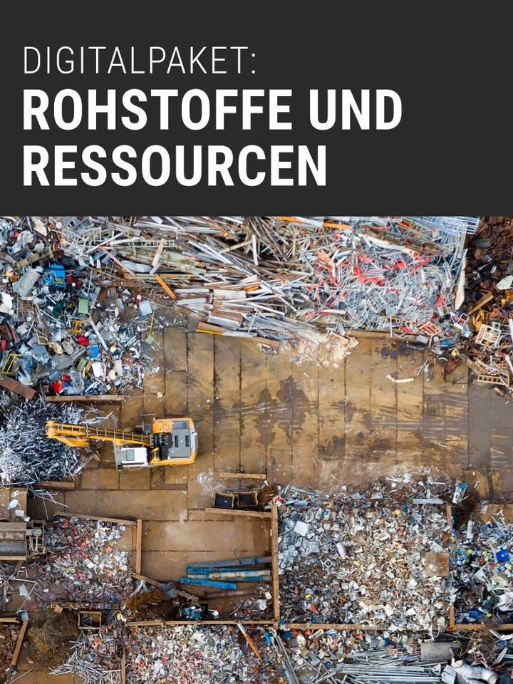 Spektrum der Wissenschaft Digitalpaket: Rohstoffe und Ressourcen
