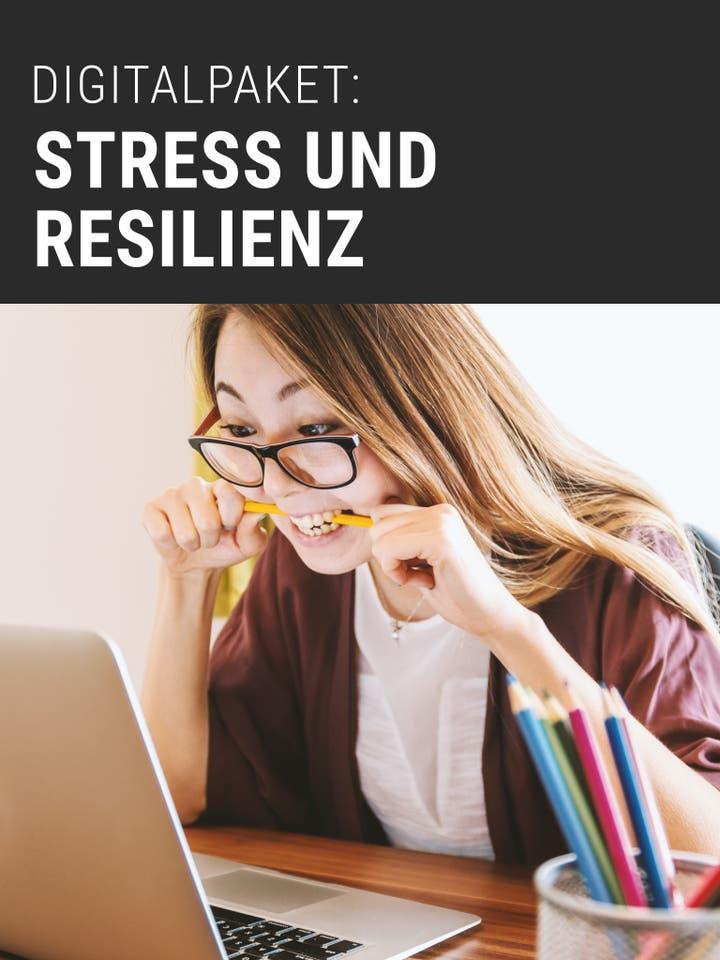 Digitalpaket Stress und Resilienz Teaserbild