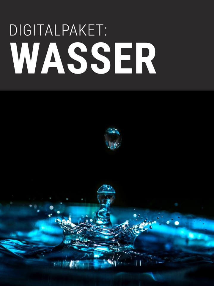 Digitalpaket Wasser Teaserbild