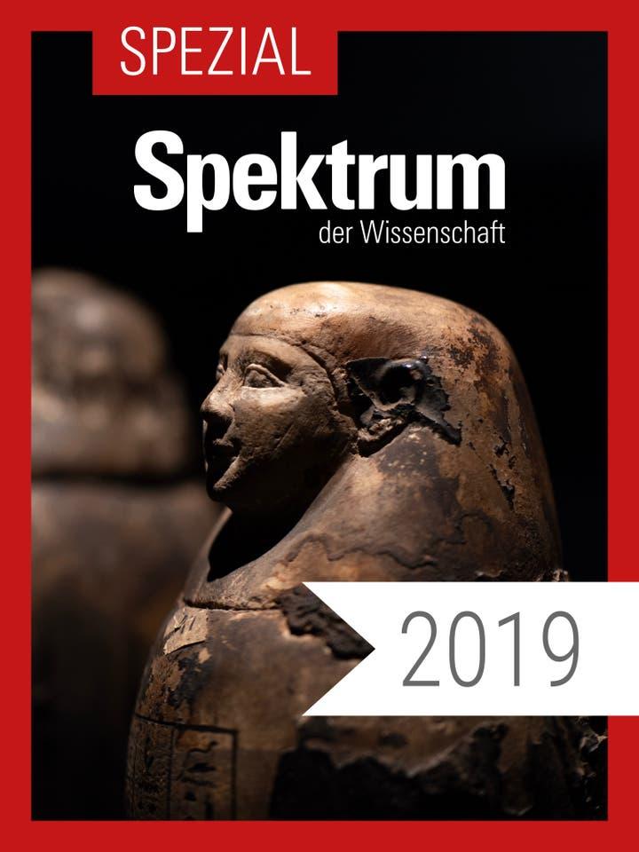 Spektrum der Wissenschaft Digitalpaket: Spezialreihe Archäologie-Geschichte-Kultur Jahrgang 2019
