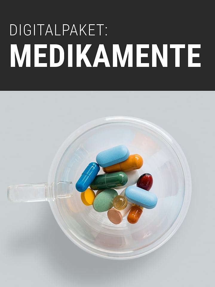 Heftcover Spektrum.de Digitalpaket: Medikamente