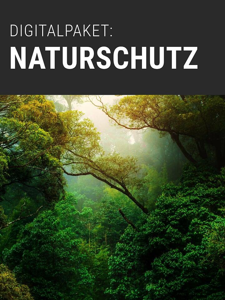 Heftcover Spektrum.de Digitalpaket: Naturschutz