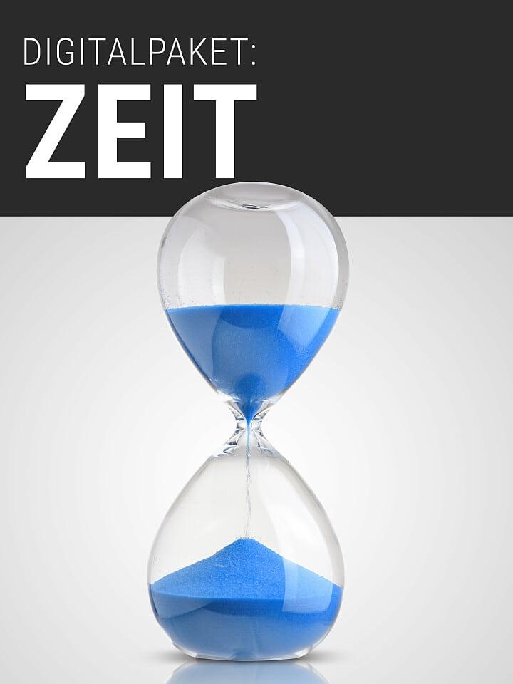 Heftcover Spektrum.de Digitalpaket: Zeit