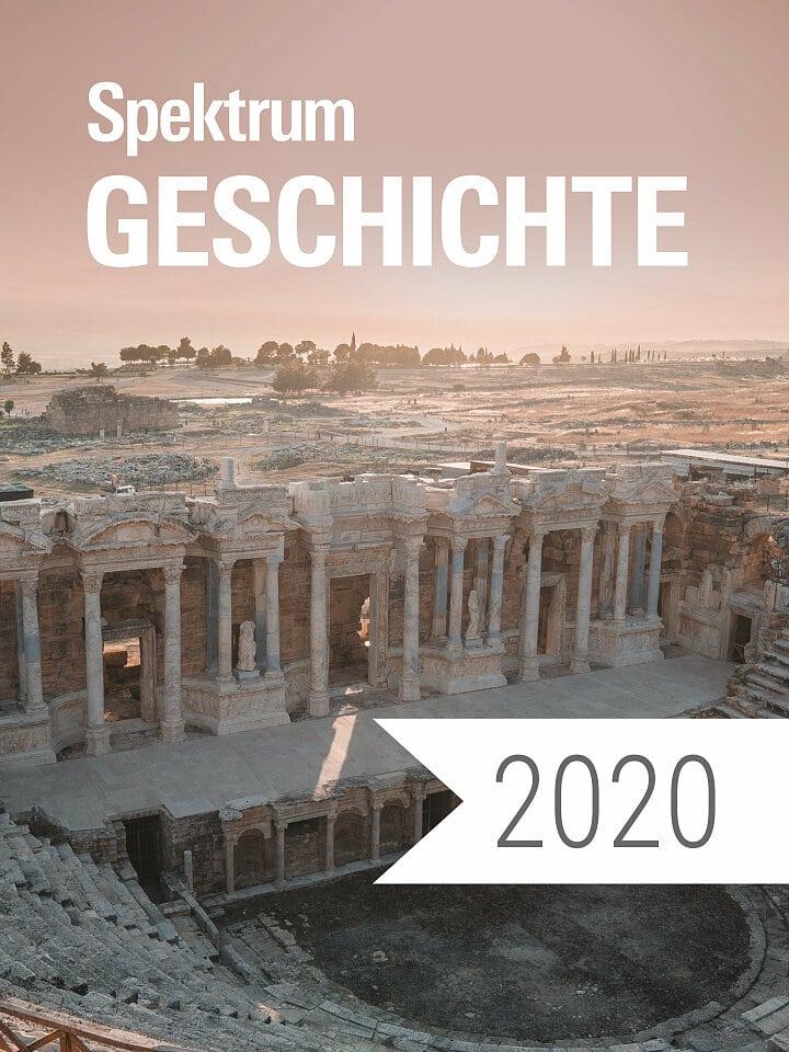 Digitalpaket: Spektrum Geschichte Jahrgang 2020