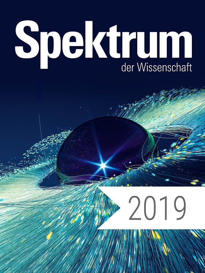 Digitalpaket: Spektrum der Wissenschaft Jahrgang 2019