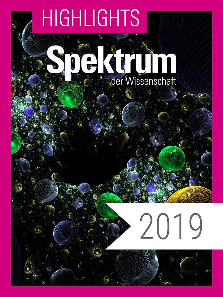 Digitalpaket: Spektrum Highlights Jahrgang 2019