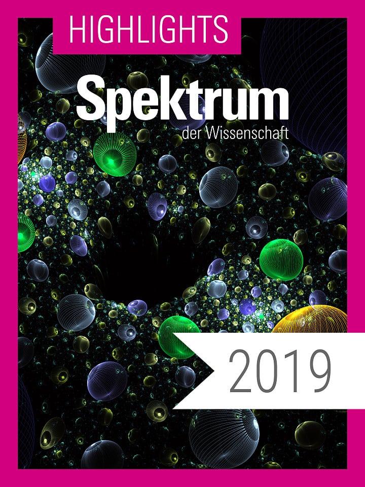 Digitalpaket: Spektrum Highlights Jahrgang 2019