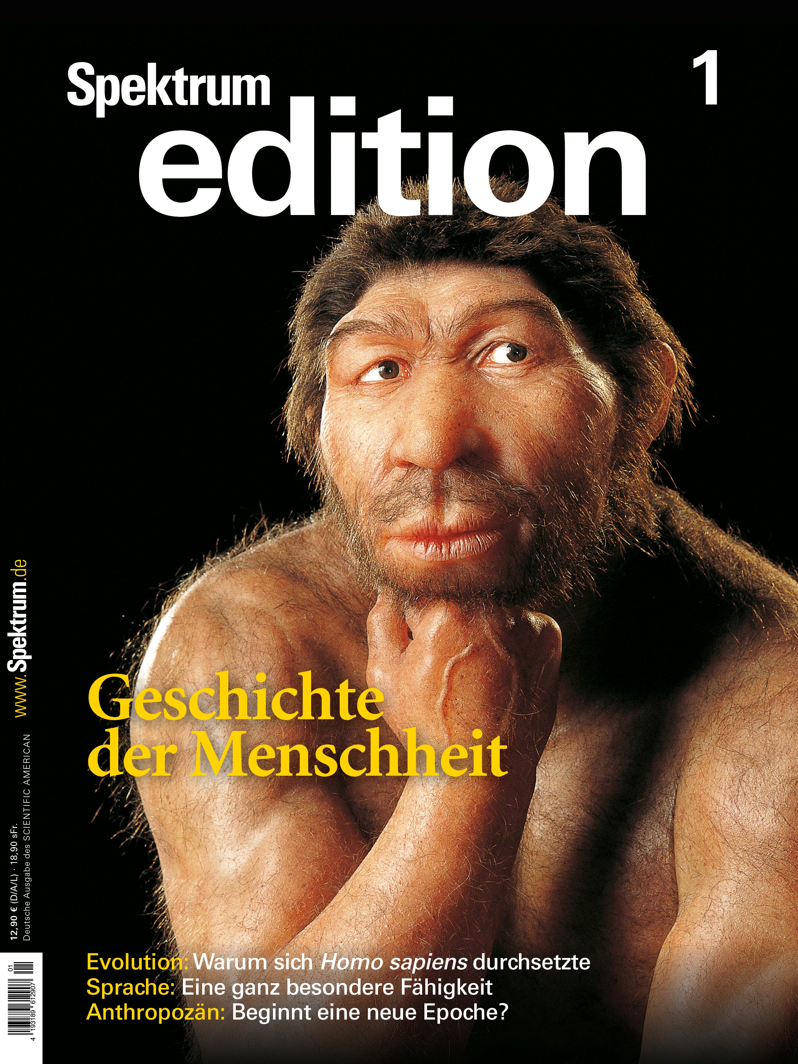 Spektrum Edition Geschichte der Menschheit mit Urmensch