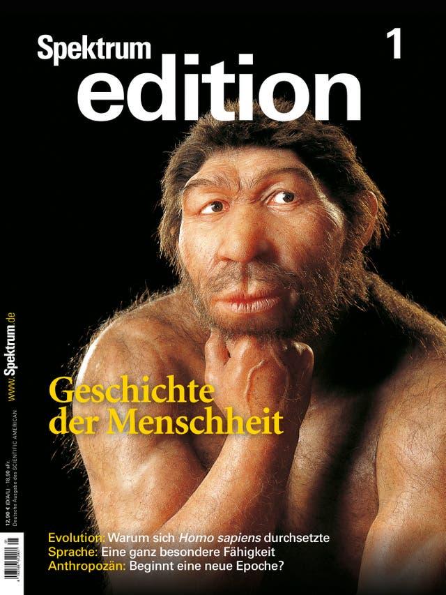 Spektrum Edition 1/2020: Die Geschichte der Menschheit