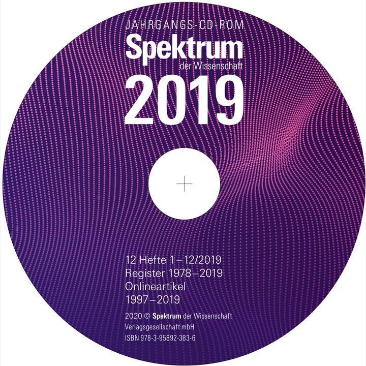 Spektrum der Wissenschaft Jahrgang 2019