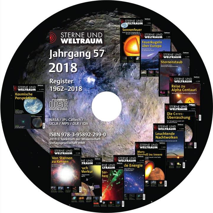 Sterne und Weltraum Jahrgang 2018