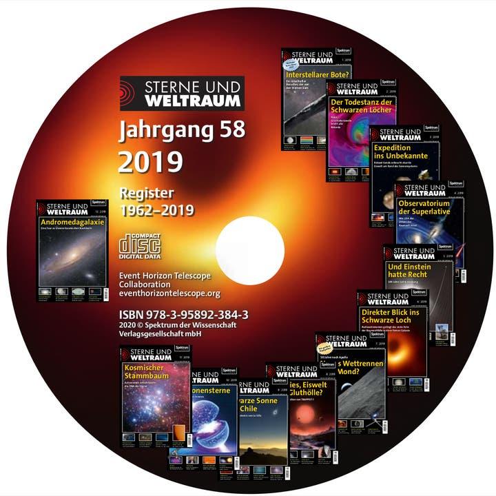 Sterne und Weltraum Jahrgang 2019
