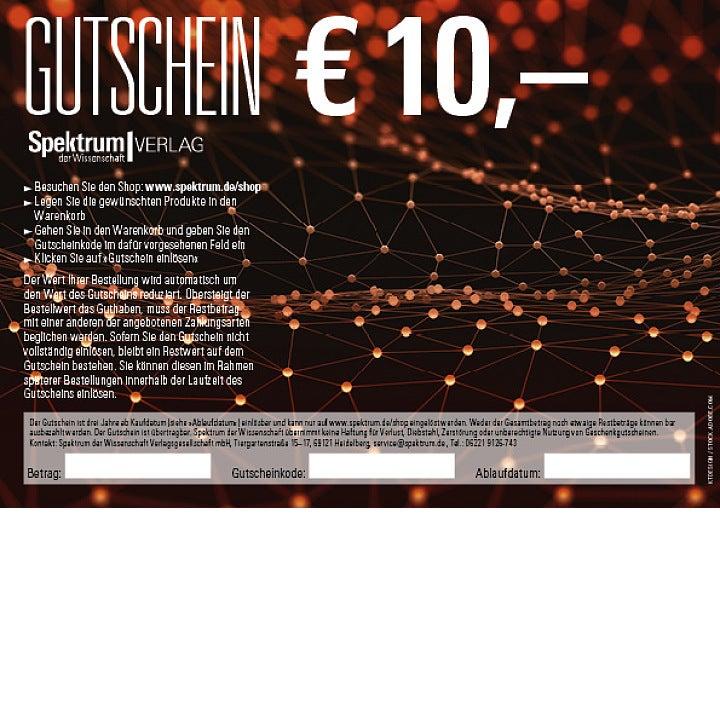 Geschenkgutschein 10,- Euro