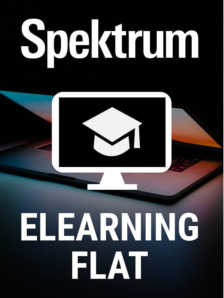 Aktuelles Cover Spektrum eLearningFlat
