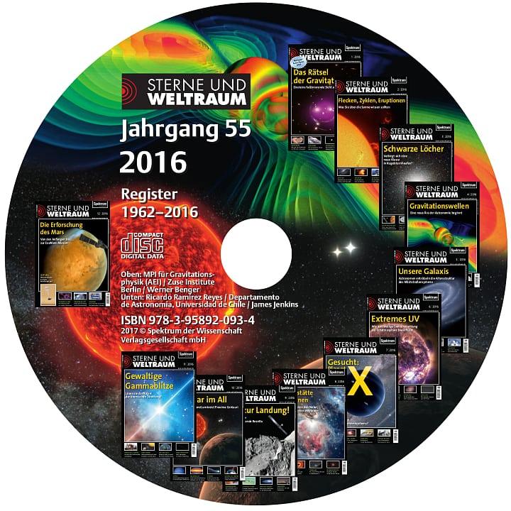 Sterne und Weltraum Jahrgang 2016