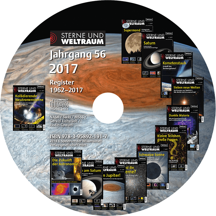 Sterne und Weltraum Jahrgang 2017