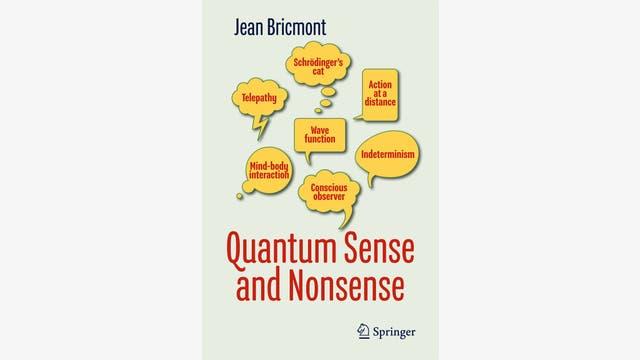Jean Bricmont: Quantum Sense and Nonsense