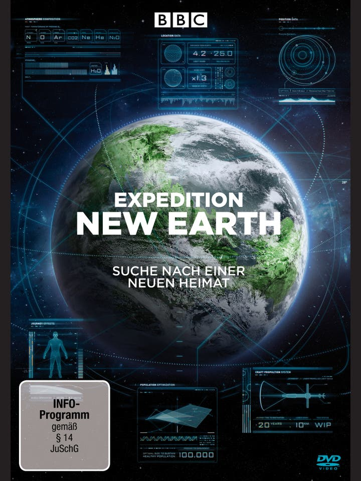Christophe Galfard, Danielle George: Expedition New Earth