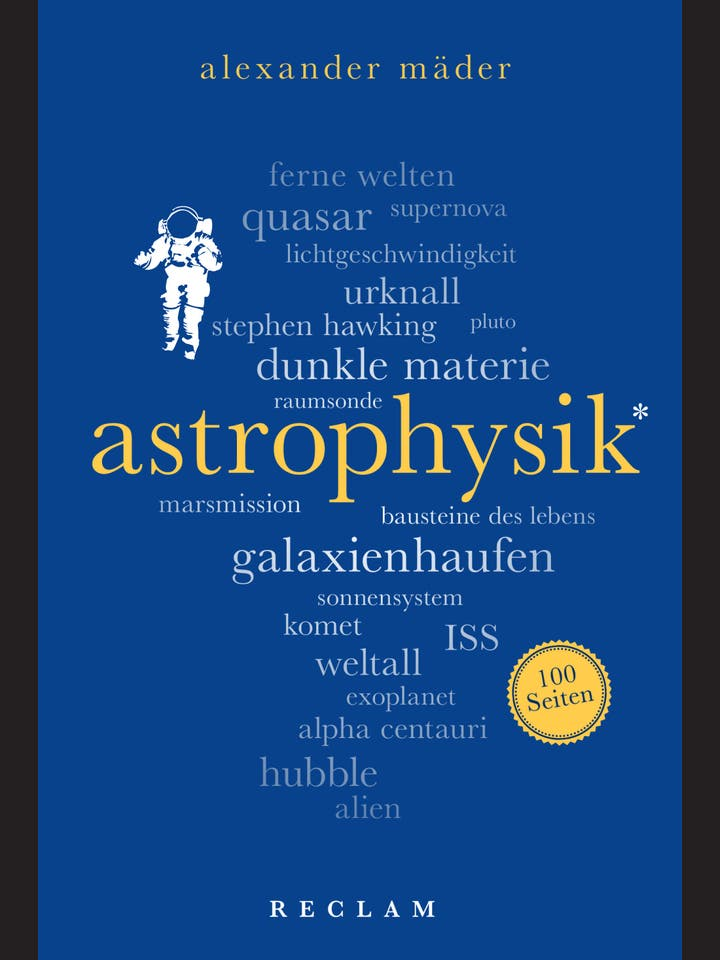 Alexander Mäder: Astrophysik
