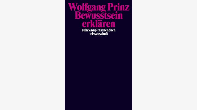 Wolfgang Prinz: Bewusstsein erklären