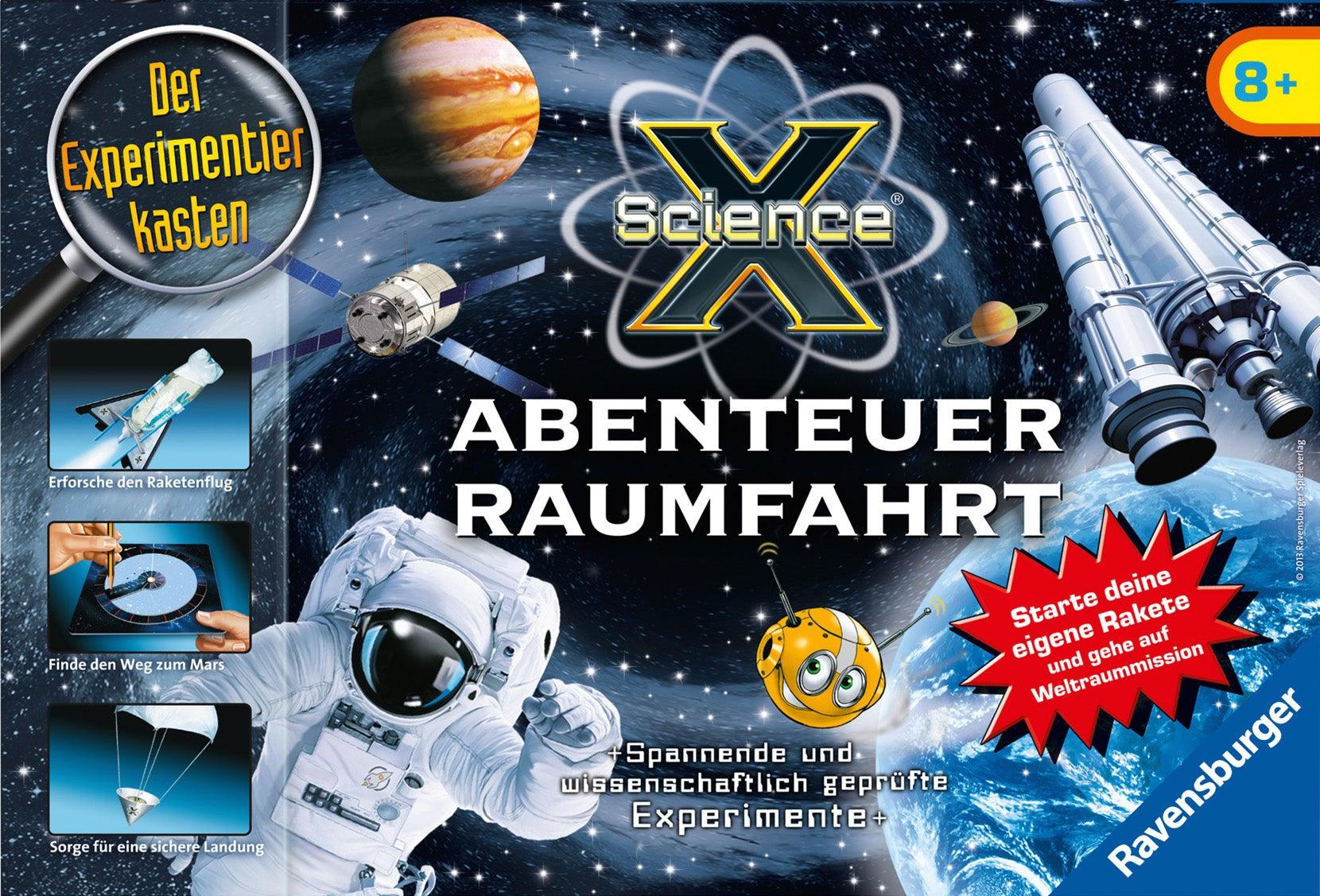 ScienceX Abenteuer Raumfahrt