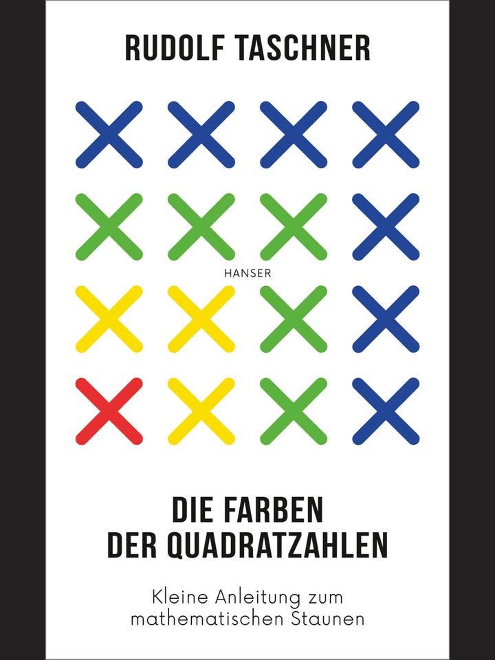 Rudolf Taschner: Die Farben der Quadratzahlen